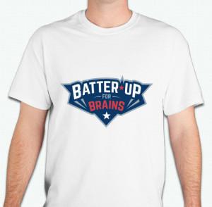 Batter Up For Brains Shirt Image Front