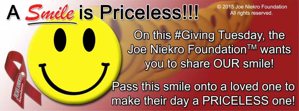 Joe Niekro Foundation Giving Tuesday